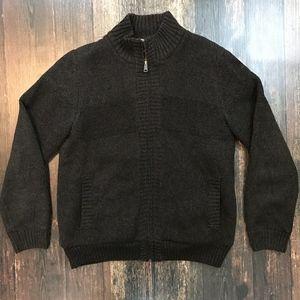 BOSTON TRADERS Sherpa Sweater Jacket